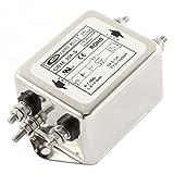 Uxcell AC 115/250V 30A CW4E-30A-S Noise Suppressor Power EMI Filter