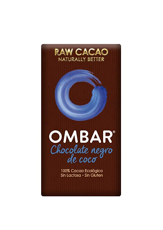 b2f7767c6da5 Ombar Raw Chocolate Probiotic Organic Coconut Choc Bar 38 g (Pack of 5)   Amazon.co.uk  Grocery