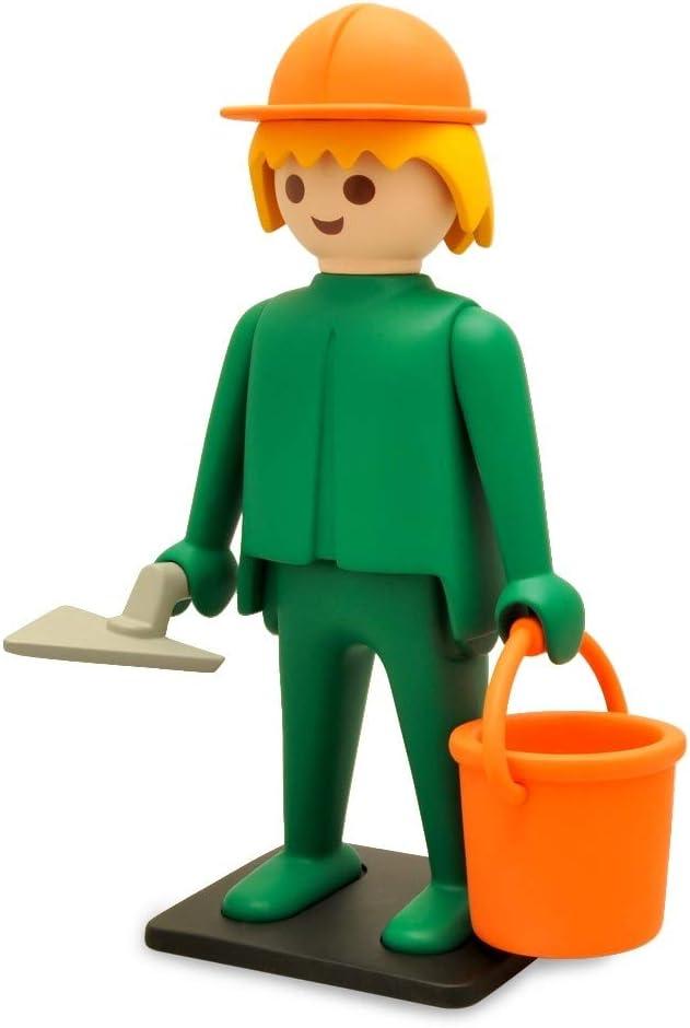 Plastoy - Playmobil Nostalgia colección: Constructor - Estatua [25 cm]