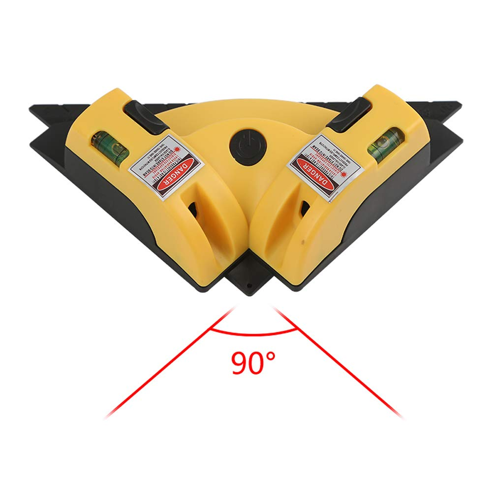 Multifonction Niveau laser vertical Horizon mesure métrique 8ft/2.5m Mesure Ligne 3 Niveau à Bulles meihaoxiangsong
