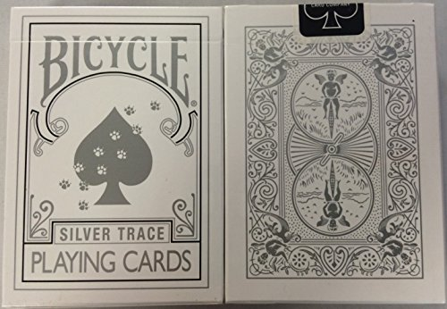 Bicycle Silver Trace Deck Playing Cards