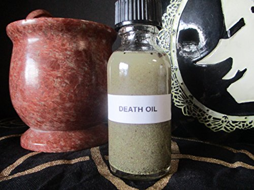 Holy Death Oil - Magic Death Oil Potion - Voodoo Potion - Witchcraft Magic Potion - Witchcraft Death Oil - Witchcraft Supplies - Mystics Realm by MysticsRealm