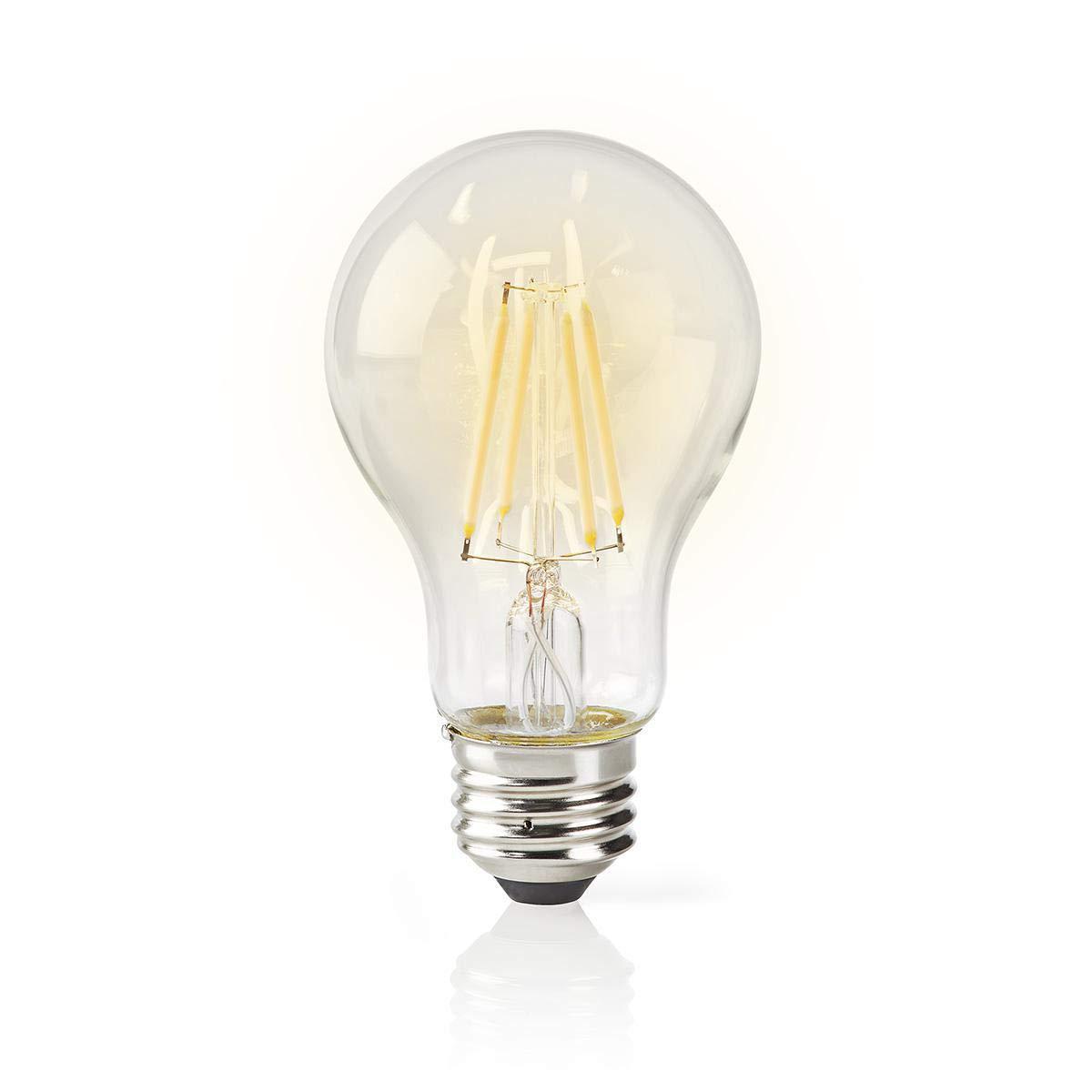 TronicXL Dimmbare WiFi WLAN Lampe Filament Gl/ühbirne Retro Design warmwei/ß kaltwei/ß LED Leuchtmittel Smart Gl/ühlampe E27 f/ür amazon Alexa Google Home Zubeh/ör G125 Vintage gro/ß dimmbar gedreht
