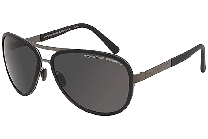 Porsche Design Gafas de sol P8567 C Gunmetal Gris gris azul ...