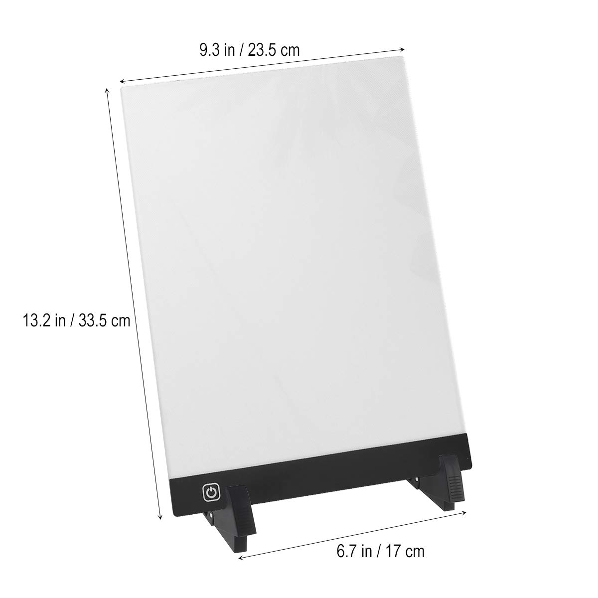 STOBOK Light Drawing Board 1 Set A4 LED Light Box Drawing Sketch Tablet Tracking Artist Backing Plate Diamond Painting Tools for Desktop Table Easel Craft Workstation by STOBOK (Image #3)