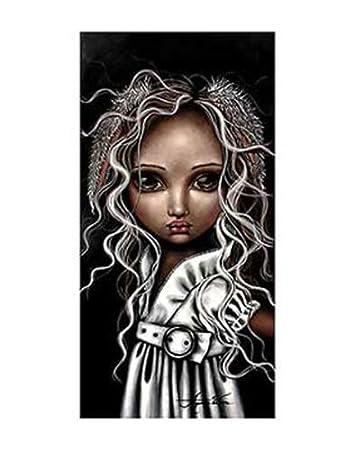 FANTASY ART PRINT Timide Lapin Angelina Wrona