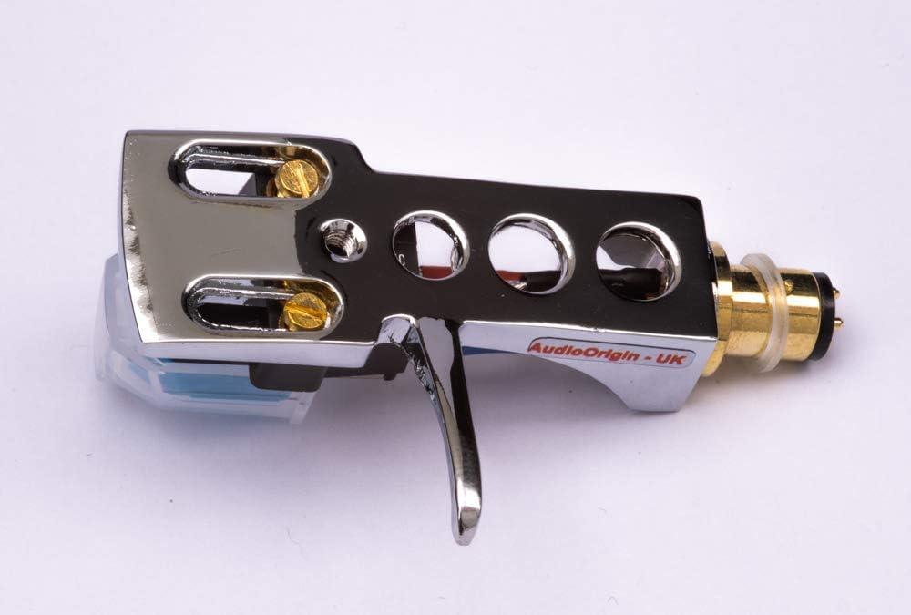 GT 250 Halter mit AT Tonabnehmer Nadel f/ür Garrard DD-400 Spiegel Chrom beschichtet Schale GT35 GT25P DD75 GT 35P DD-130 DD132 GT 20 GT-25 SP25 DD131