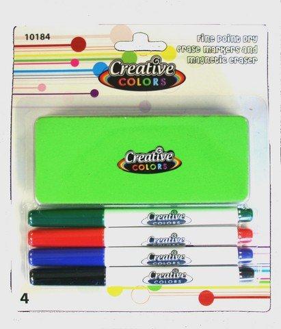 YDB Dry Erase Marker Set44; Case of 48