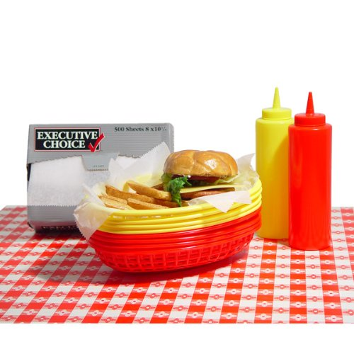 yellow bbq basket liners - 4