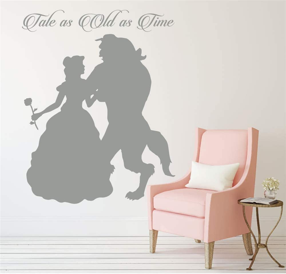 Princess room girl personalised wall art vinyl home decor BIG homewarming quote