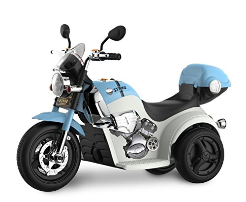 Kid Motorz 6V Motorcycle Ride On, Blue