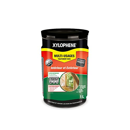 Xylophene - Traitement Bois Multi-Usages - Incolore, 1,5L