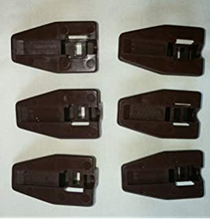 11 Sets Dresser Drawer Replacement Part Guide Glide Stop Socket Kenlin Rite Trak