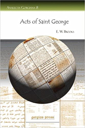 Book Acts of Saint George (Analecta Gorgiana)