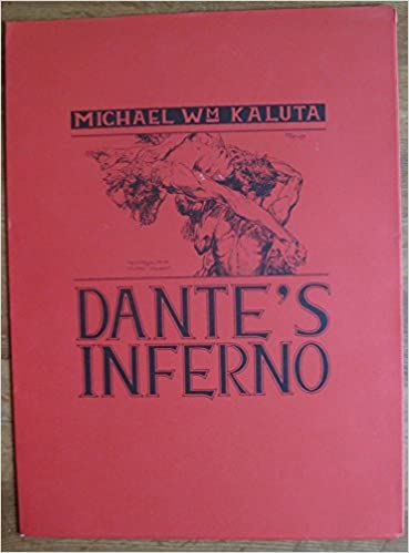 Dante S Inferno Art Portfolio Signed By Illustrator