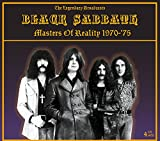 BLACK SABBATH - MASTERS OF REALITY: 4 CD SET