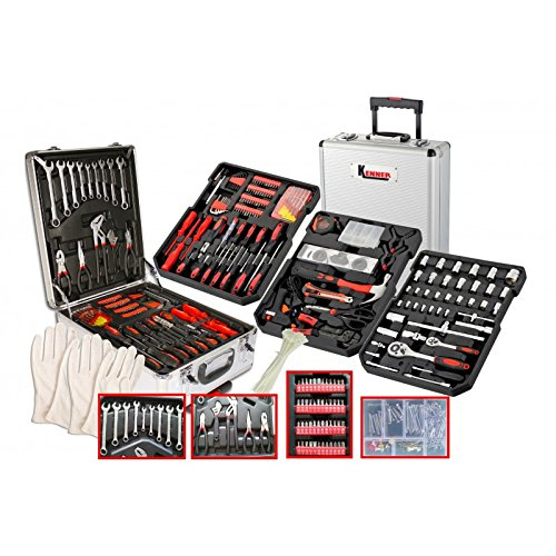KENNER ke25127 Coffret maleta XXL 804 piezas de herramientas ...