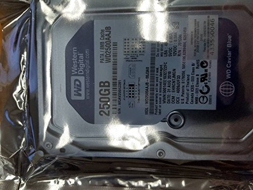 Western Digital Blue WD2500AAJB 250GB 7200 RPM 8MB Cache IDE Ultra ATA100 / ATA-6 3.5