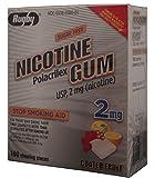 Nicotine Gum 2mg Sugar Free Coated Fruit Generic