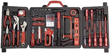 Universal inkl Werkzeugsortiment 60tlg Spannungsprüfer Werkzeugkasten