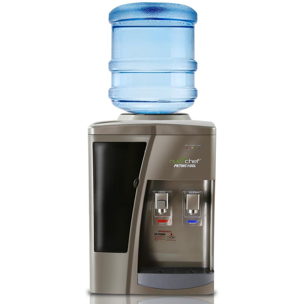 NutriChef PKTWC10SL Water Cooler, One Size, Silver by Nutrichef