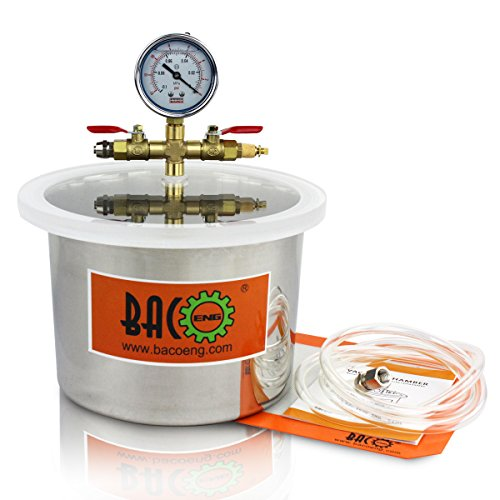 BACOENG Stainless Chamber Silicone Degassing