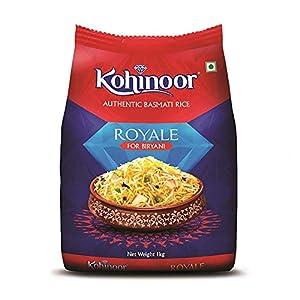 Kohinoor Royale Authentic Basmati Rice, 1 kg Pack