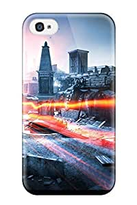 Tpu Case For Iphone 4/4s With Battlefield 3 Aftermath