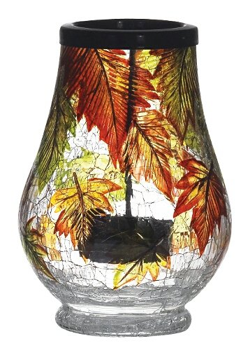 UPC 751561759431, Falling Leaves Drop In Tealight Holder