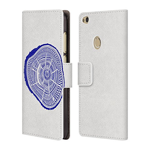 Official Cat Coquillette Navy Ponderosa Nature Leather Book Wallet Case Cover For Huawei P8 Lite (Ponderosa Leather)