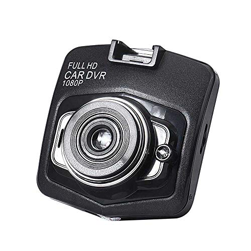 Price comparison product image Auto Dash Cams for Carswith Infrared Night Vision 2.4inch 1080HD Camera with G-Sensor 90 A + Grade High-Resolution Ultra Wide-Angle Len (Ship from US) (Black)