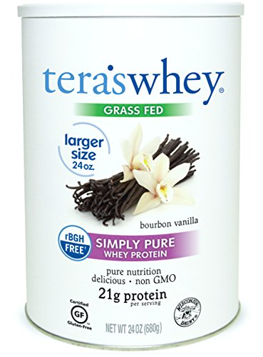 Cheap teraswhey Simply Pure Whey Protein, Bourbon Vanilla, 24 oz