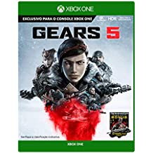 Gears 5 -  Xbox One + Chaveiro Exclusivo e DLC Lancer especial