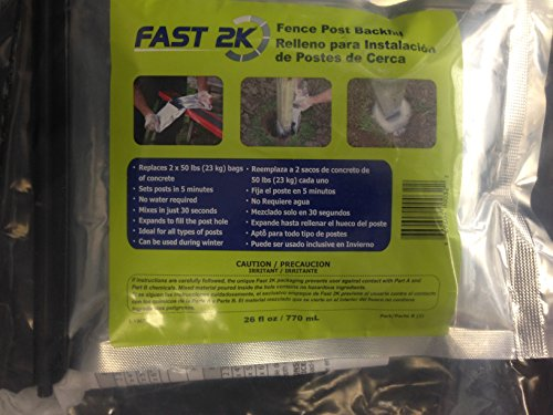 Fast 2K Post Back Fill For 5 Inch Posts | Single Pack | ANPT-FAST2K-5