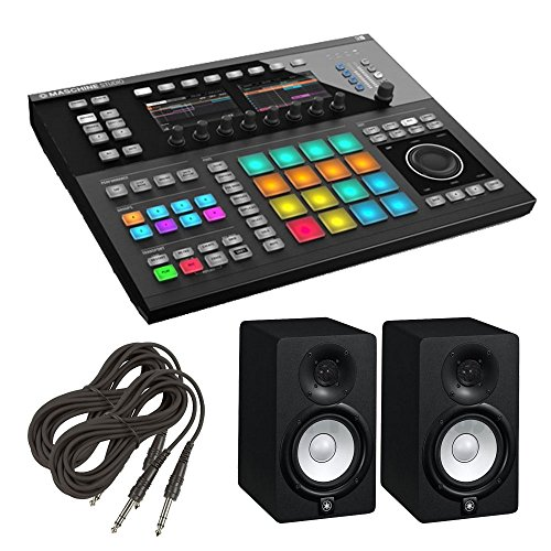 Price comparison product image Native Instruments Maschine Studio - Black. W/ Yamaha HS5(PAIR) + 2 TRS Cable