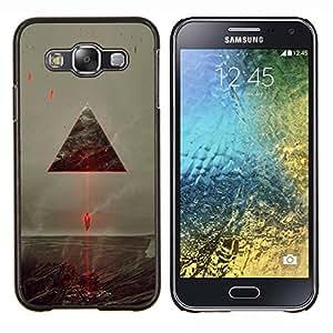 Stuss Case / Funda Carcasa protectora - Sci Fi Triángulo del vehículo espacial - Samsung Galaxy E5 E500
