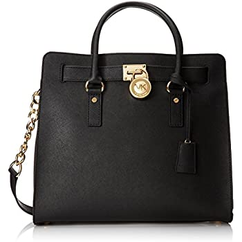 52011e168 Amazon.com: MICHAEL Michael Kors Hamilton Large North/South Tote ...