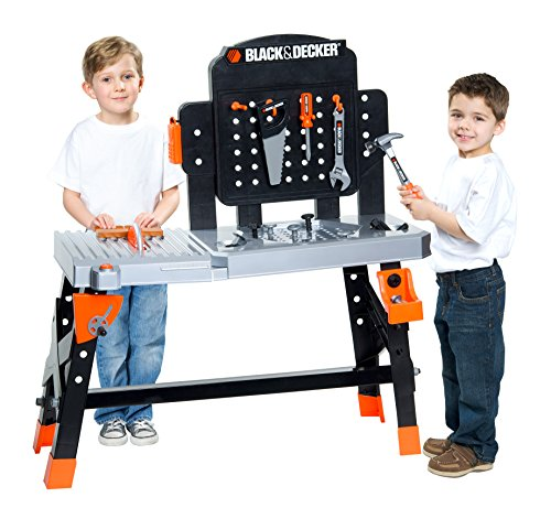 Black & Decker Jr. Black & Decker Jr. Ultimate Project Workbench Playset (Black And Decker Tool Table compare prices)