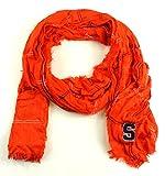 ZooZtaz NCAA Syracuse Orange Grid Iron Infinity Scarf
