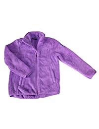 The North Face Girls' CAMPSHIRE Full Zip Bell Flower Purple