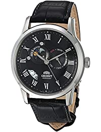 Men's FET0T002B0 Sun and Moon Analog Display Japanese Automatic Black Watch