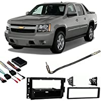 Fits Chevy Avalanche 07-13 Single DIN Stereo Harness Radio Install Dash Kit