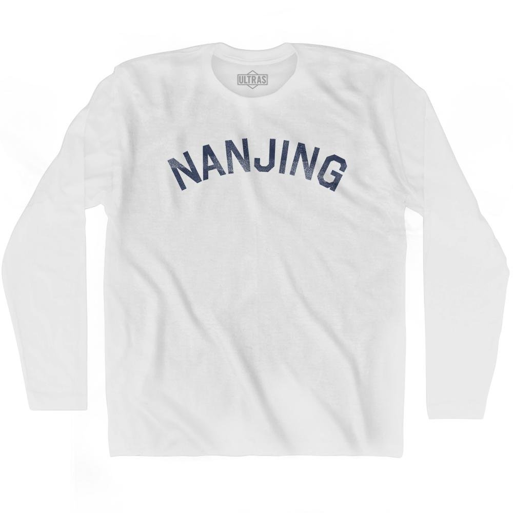 Nanjing Vintage City Adult Cotton Long Sleeve T-shirt