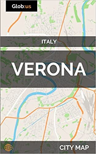 Verona Italy City Map Jason Patrick Bates 9781973550679 Amazon