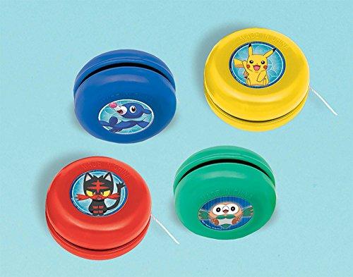 amscan Pokemon Yo-Yos, Party Favor -