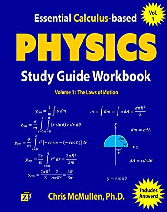 Essential calculus based physics study guide workbook the laws of print list price 1999 fandeluxe Choice Image