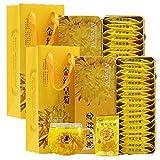 Dian Mai Gold silk Huang Ju a cup of special Huang Jugong chrysanthemum large chrysanthemum tea 40 (20 / box a total of 2 boxes)