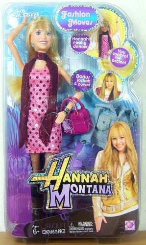 Play Along Hannah Montana Fashion Collection Dancing Doll:Hannah (Montana Fashion)