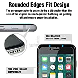 """ACEIken iPhone 8 Plus 7 Plus Screen Protector Tempered Glass, Crystal Clear, 9H Hardness, 3D Touch Compatible, Glass Screen Protector for Apple iPhone 8 Plus i Phone 7 Plus 5.5"""""""