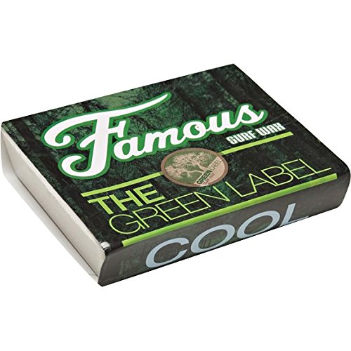 Famous Surf Green Label Cool Organic Surf (Famous Wax)